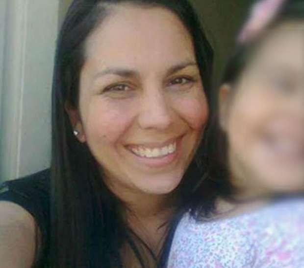 Paola Acosta murió con su hija sobre el pecho Foto: Web
