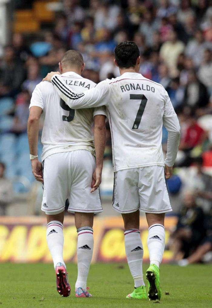Benzema podría ser suplente el próximo partido de Liga Foto: Efe