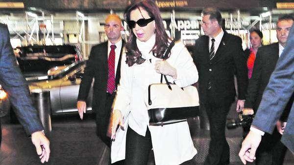 Cristina y una agitada agenda en Nueva York Foto: Agencias