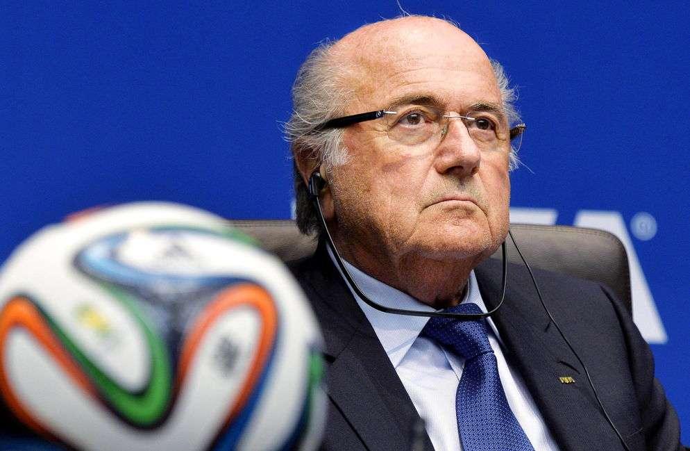 Josep Blatter, presidente de Fifa. Foto: EFE
