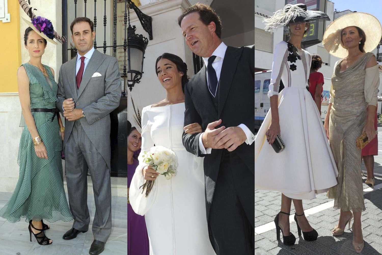 Los Domecq y los Bohórquez, de boda en Marbella