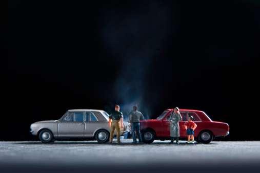 Si el automovilista no tiene póliza de sguro, recibirá una multa hasta de 40 salarios mínimos que sólo podrá librar si adquiere el seguro en 45 días. Foto: Getty Images