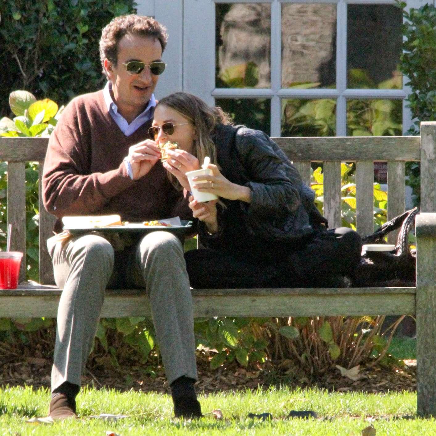 Mary-Kate Olsen e Olivier Sarkozy Foto: The Grosby Group