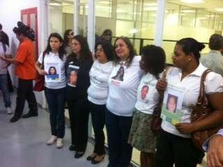 Mães de pessoas desaparecidas comparecem à inauguração de delegacia especalizada Foto: Marcus Vinicius Pinto/Terra