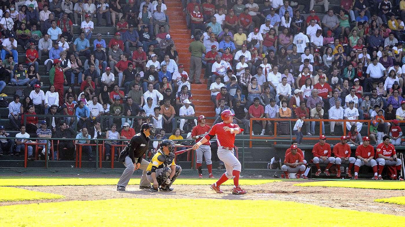 Los Diablos Rojos del México, campeones de la Liga Mexicana de Beisbol, hicieron oficial que la temporada 2015 la jugará como local en el estadio Fray Nano Foto: Diablos Rojos del México