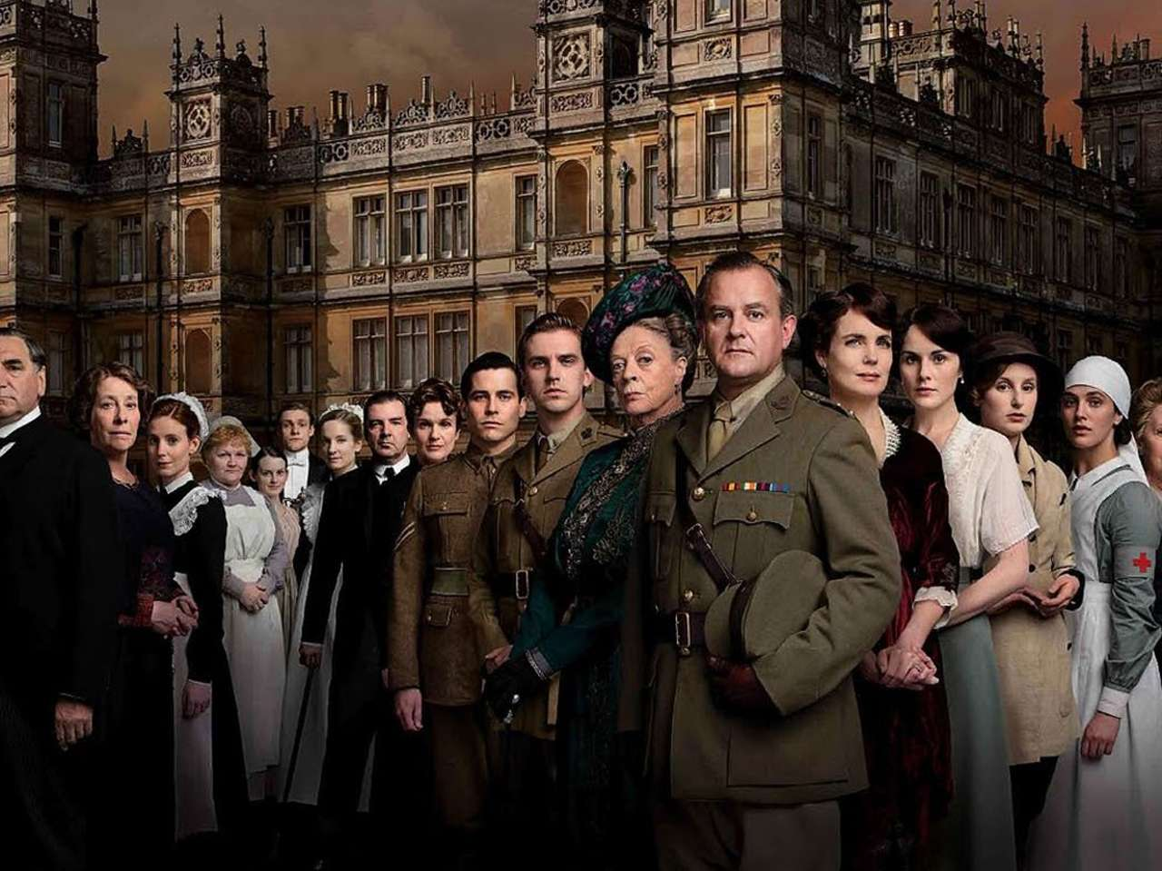 'Downton Abbey'. Foto: Masterpiece