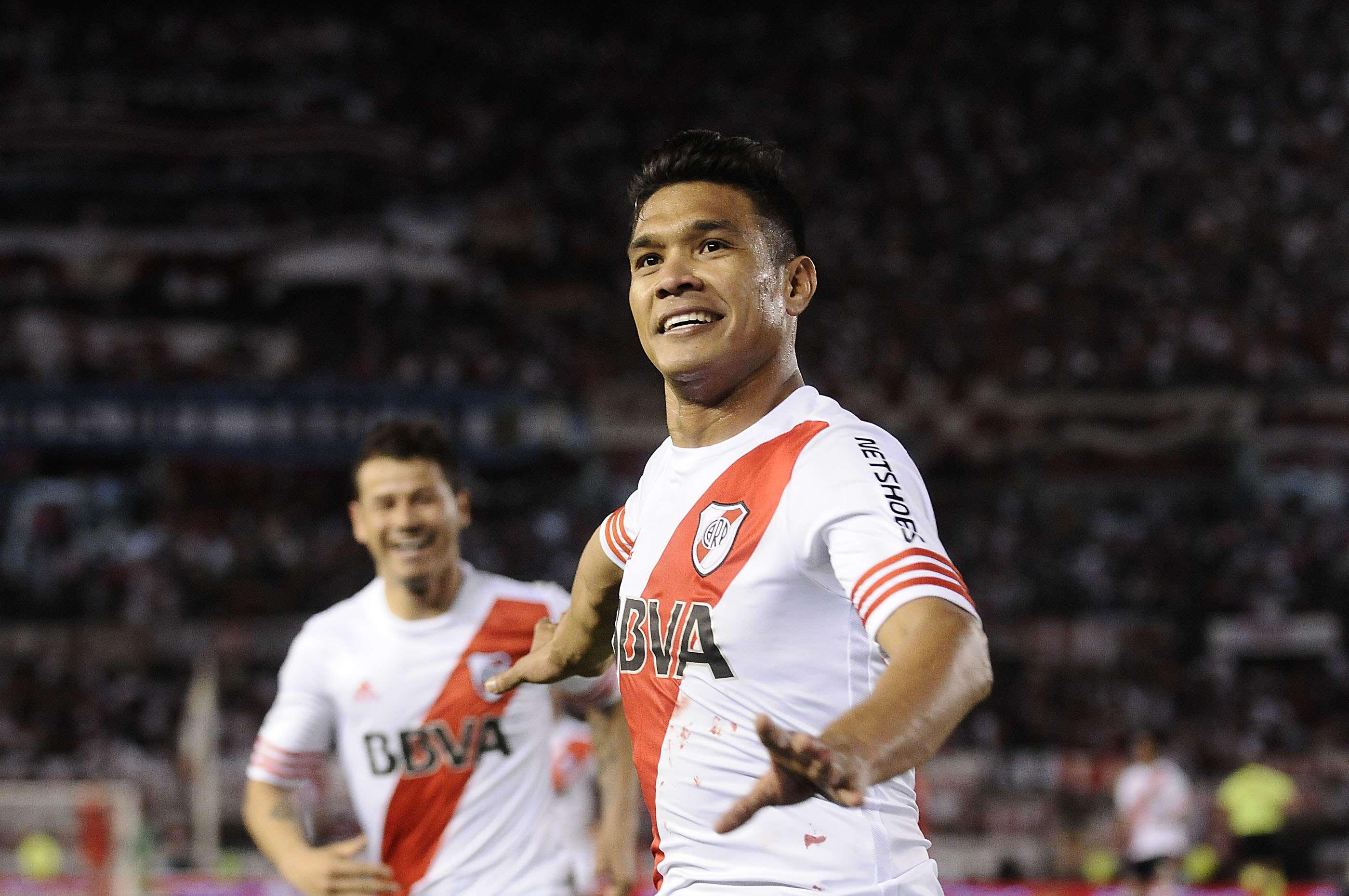 Teófilo Gutiérrez marcó otro gol para River Foto: Agencias