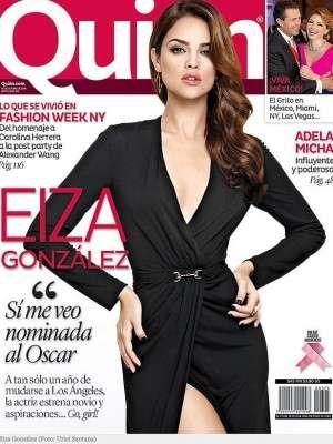 Eiza González. Foto: Portada revista Quién
