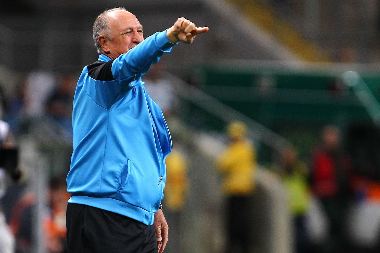 Felipão está há sete jogos sem perder no Campeonato Brasileiro Foto: Lucas Uebel/Getty Images
