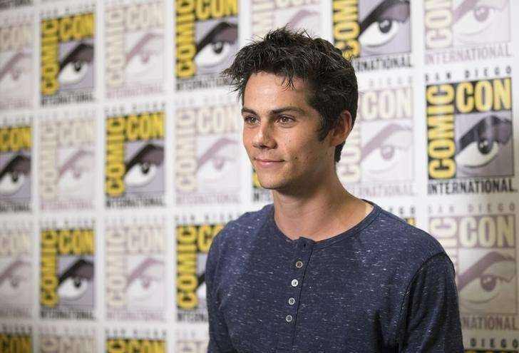 "Cast member Dylan O'Brien poses at a press line for ""The Maze Runner"" during the 2014 Comic-Con International Convention in San Diego, California July 25, 2014. Foto: Mario Anzuoni/Reuters"