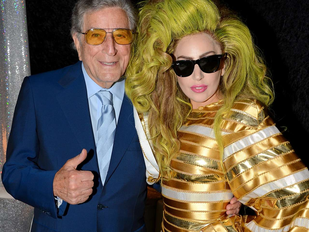Lady Gaga y Tony Benett. Foto: Getty Images