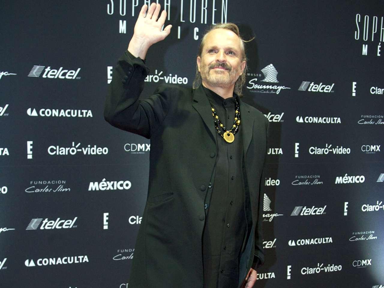 Miguel Bosé. Foto: Reforma