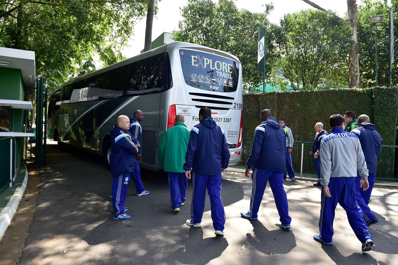 Palmeiras, desembarque Foto: Fernando Dantas/Gazeta Press