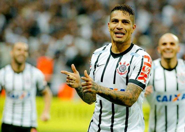 Paolo Guerrero es el hombre gol del Corinthians. Foto: Corinthians Facebook.