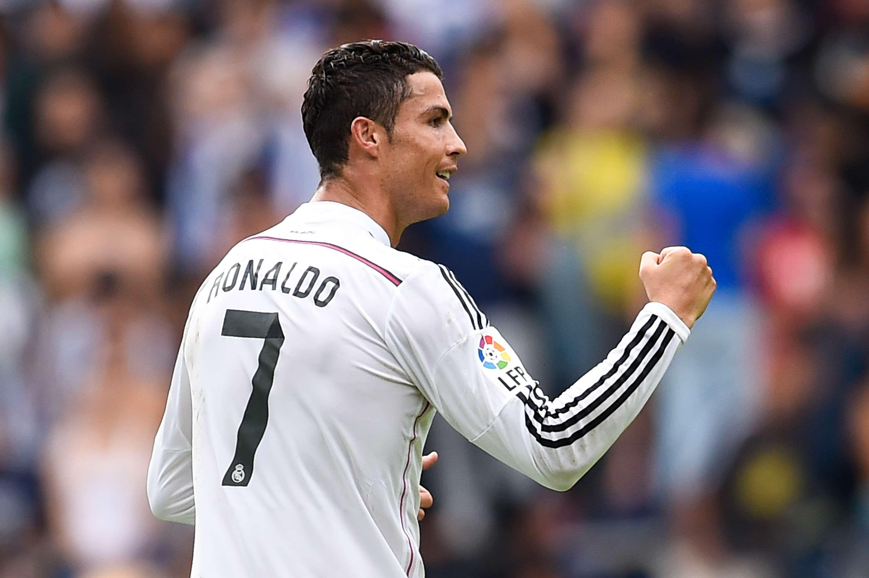 Cristiano Ronaldo celebra un gol ante del Deportivo de la Coruña. Foto: Getty Images