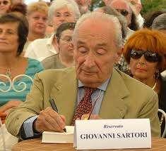 Giovanni Sartori es uno de los estudiosos de la política y las ciencias sociales más influyentes de la actualidad. Foto: AP en español