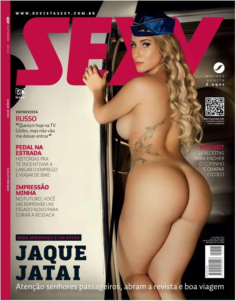 Jaque Jatai posa para 'Sexy' Foto: Divulgação