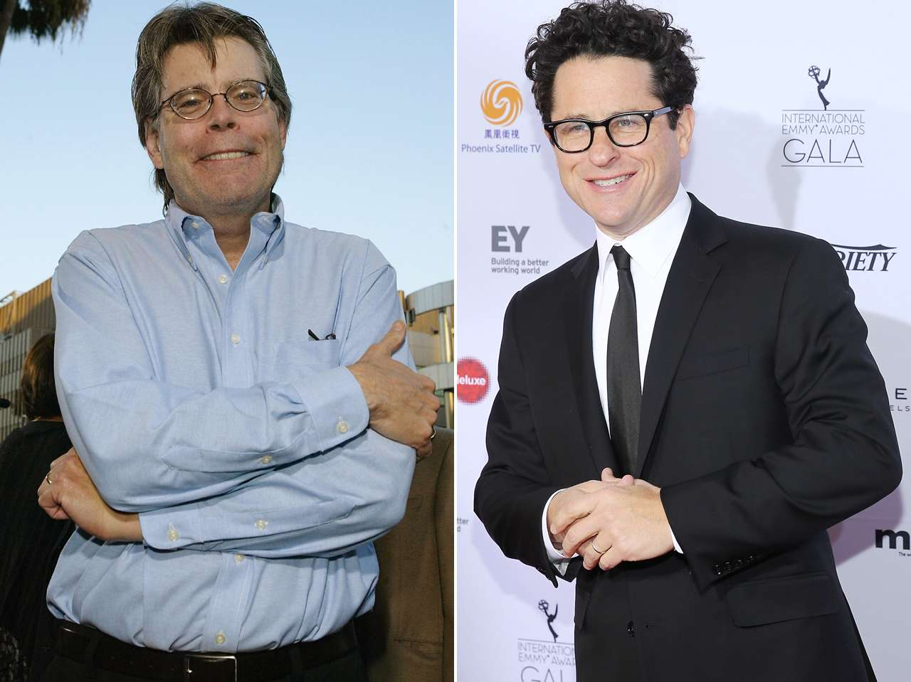 Stephen King y J.J. Abrams. Foto: Getty Images