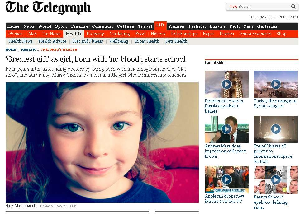 Maisy. Foto: The Telegraph