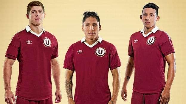 La camiseta alterna de Universitario de Deportes por sus 90 años. Foto: Umbro Perú