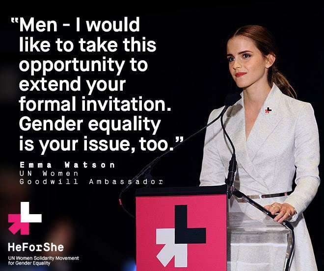 Foto: HeForShe