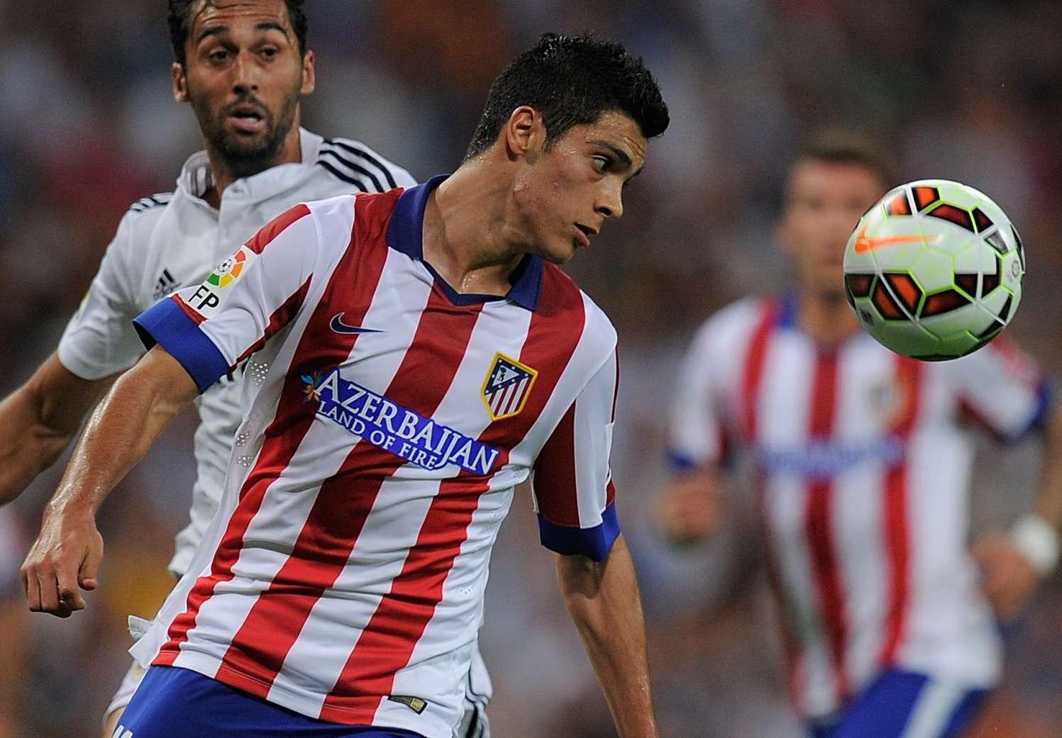 Raúl Jiménez suma cinco partidos sin gol, uno con América y cuatro con Atlético de Madrid. Foto: Getty Images