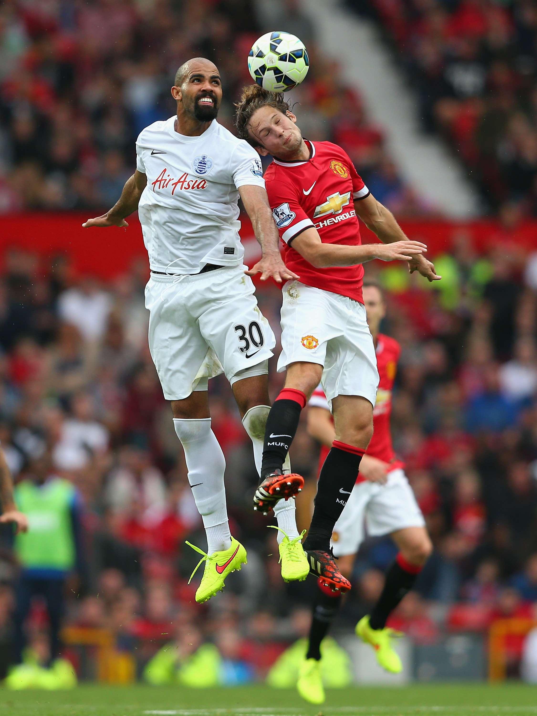 Sandro (i), jugador del QPR. Foto: Getty Images