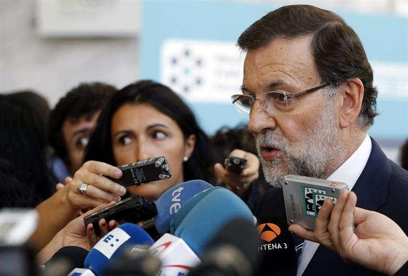 El presidente del Gobierno, Mariano Rajoy, ha asegurado que la falta de consenso ha obligado al Ejecutivo a retirar la reforma de la ley del aborto. Foto: EFE