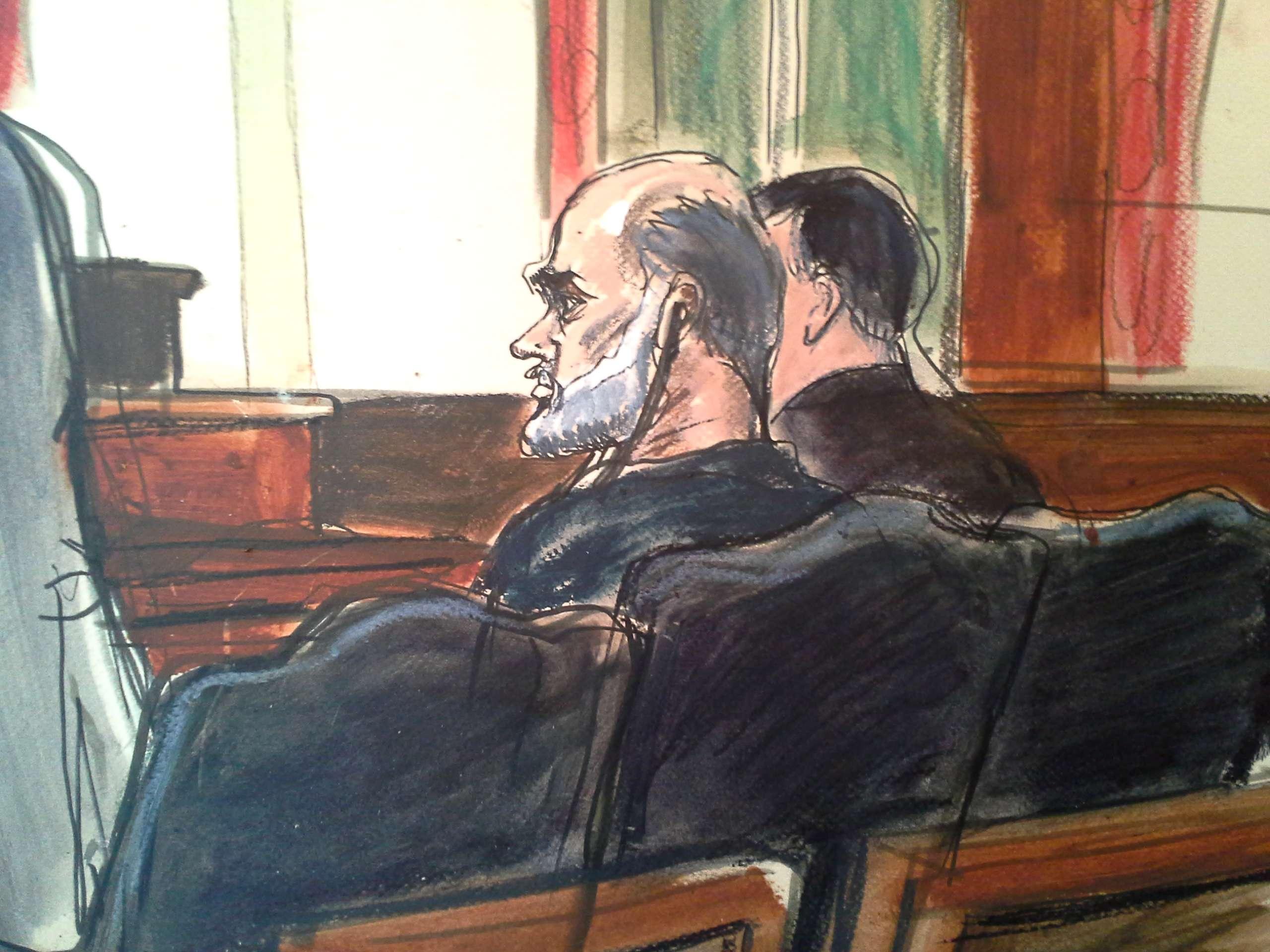 Souleymane Abou Ghaith fue condenado este martes en una corte de Nueva York. Foto: AP en español