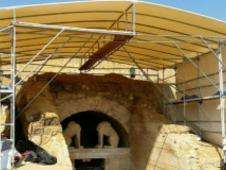Entrada a la tumba de Anfípolis Foto: BBC Mundo/Copyright