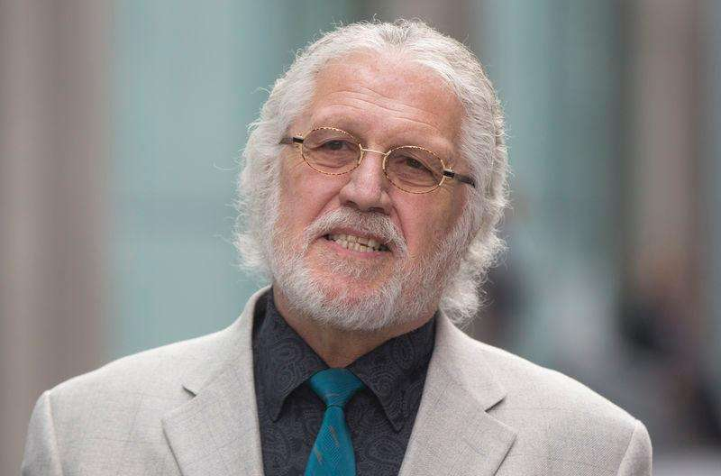 Former Radio 1 DJ, Dave Lee Travis, real name David Patrick Griffin, arrives after the lunch break, at Southwark Crown Court in London September 23, 2014. Foto: Neil Hall/Reuters
