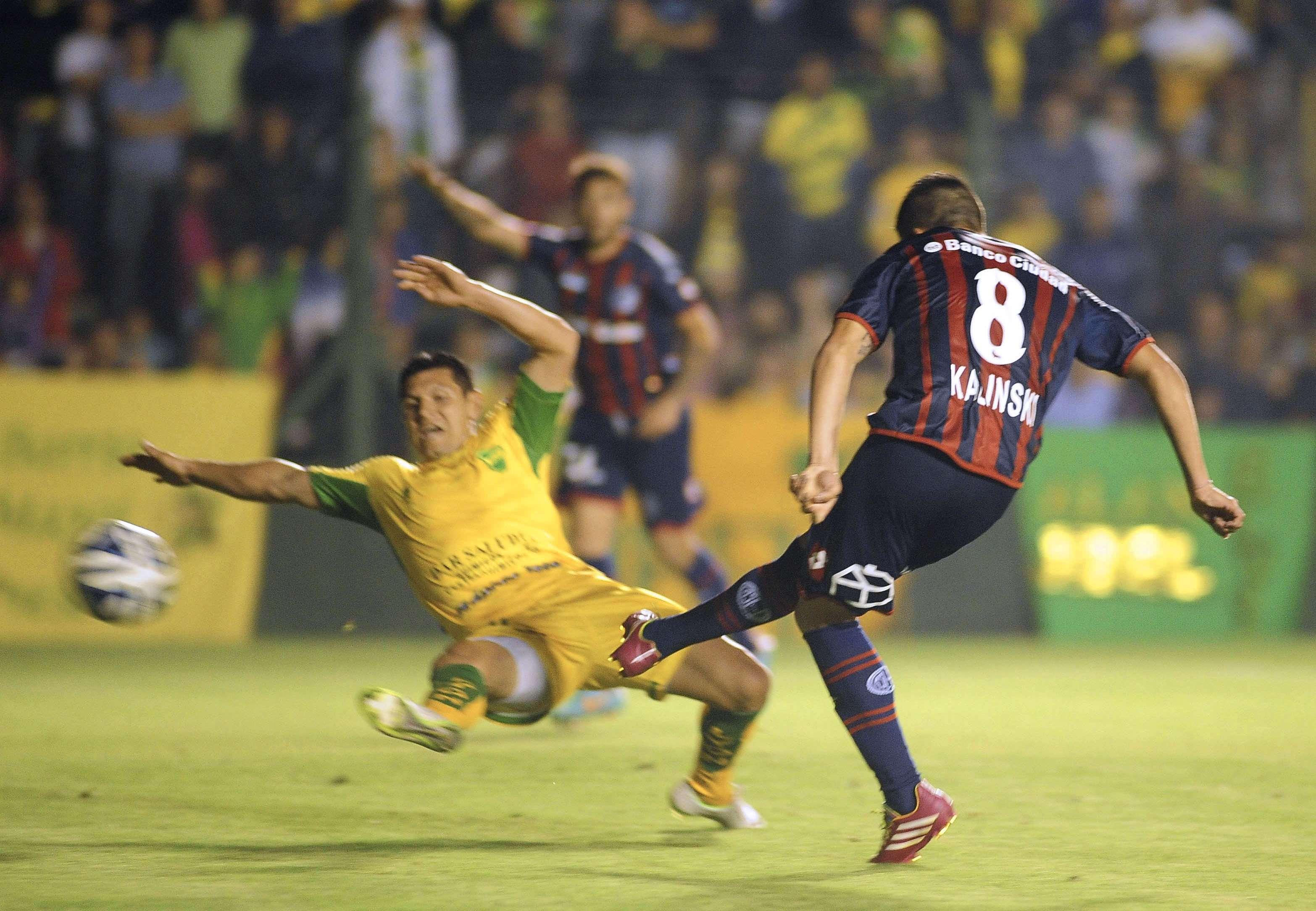 San Lorenzo le ganó 3 a 1 a Defensa Foto: Agencias