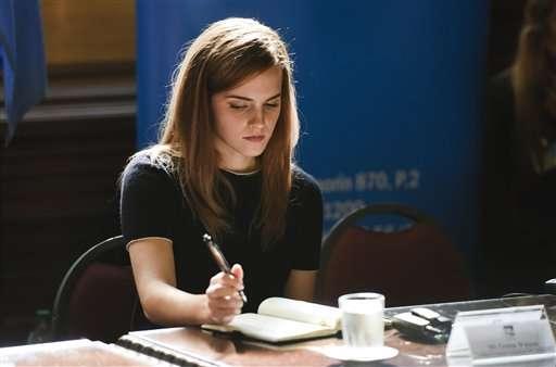 Emma Watson amenazada tras discurso feminista en la ONU