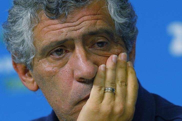 Técnico Fernando Santos, contratado como novo treinador da seleção de Portugal. 28/06/2014 Foto: Brian Snyder/Reuters