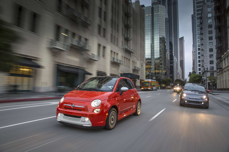 Fiat 500E 2015 Foto: Fiat