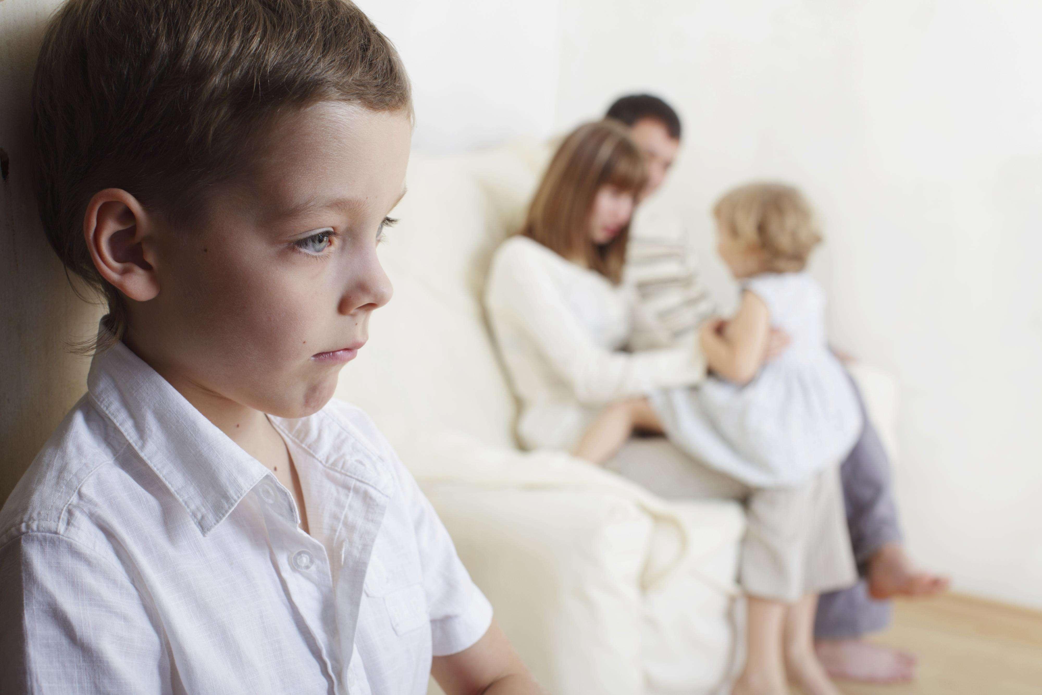 Hijos y celos. Foto: Thinkstock