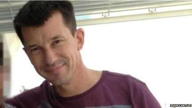 """Jornalista John Cantlie disse que Ocidente """"dormiu no ponto e foi pego de surpresa pelo rápido avanço do Estado Islâmico"""" Foto: BBC Brasil"""