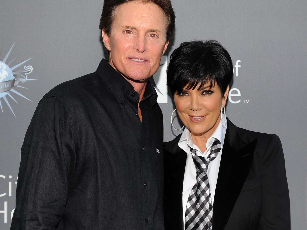 Kris y Bruce Jenner. Foto: Getty Images