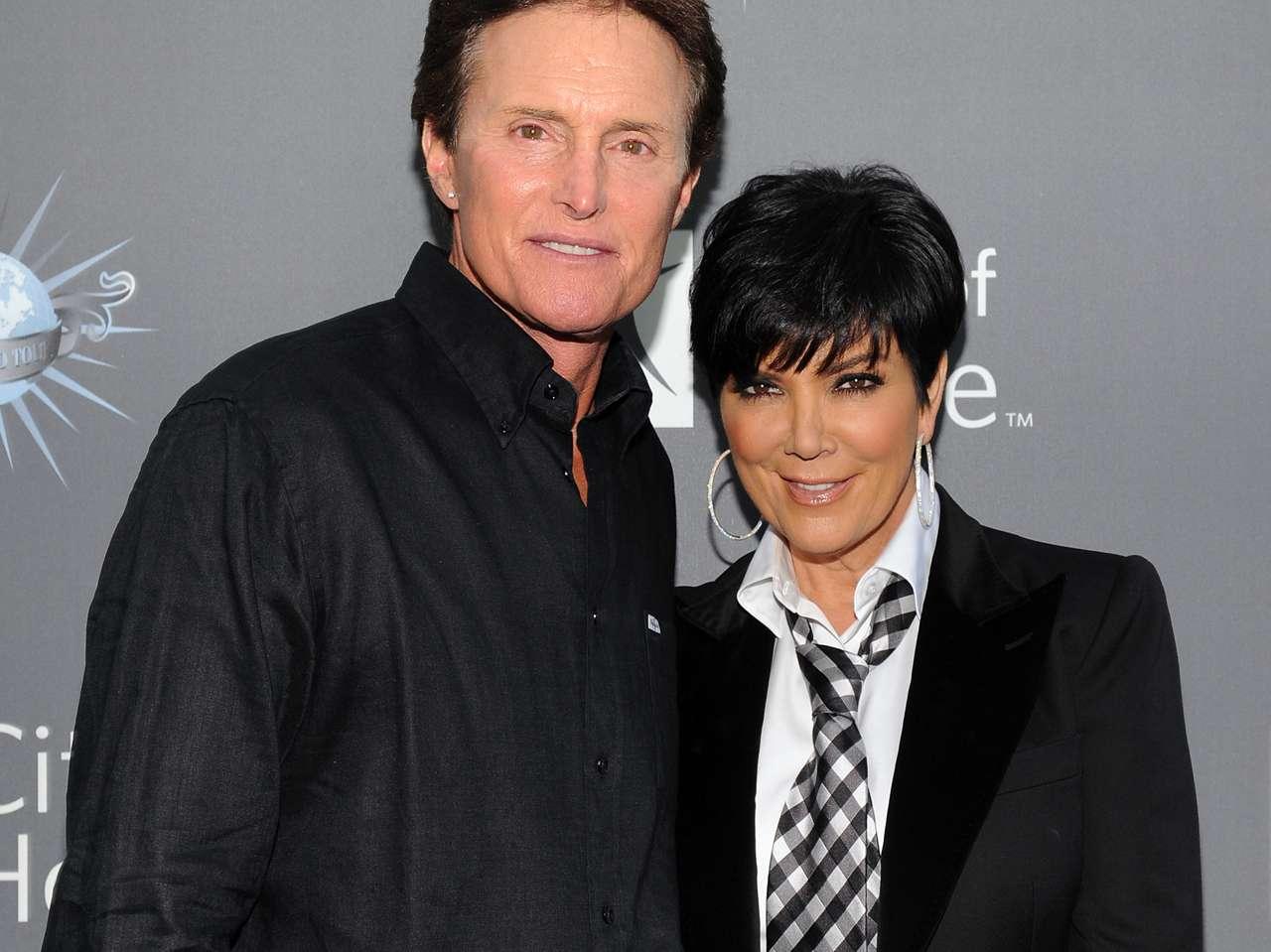 Kris y Bruce Jenner. Foto: Getty Images