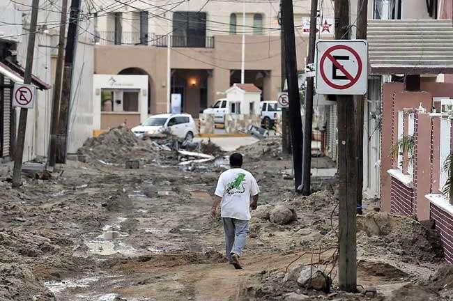 """El huracán """"Odile"""" afectó la infraestructura turística en Los Cabos. Foto: Reforma"""