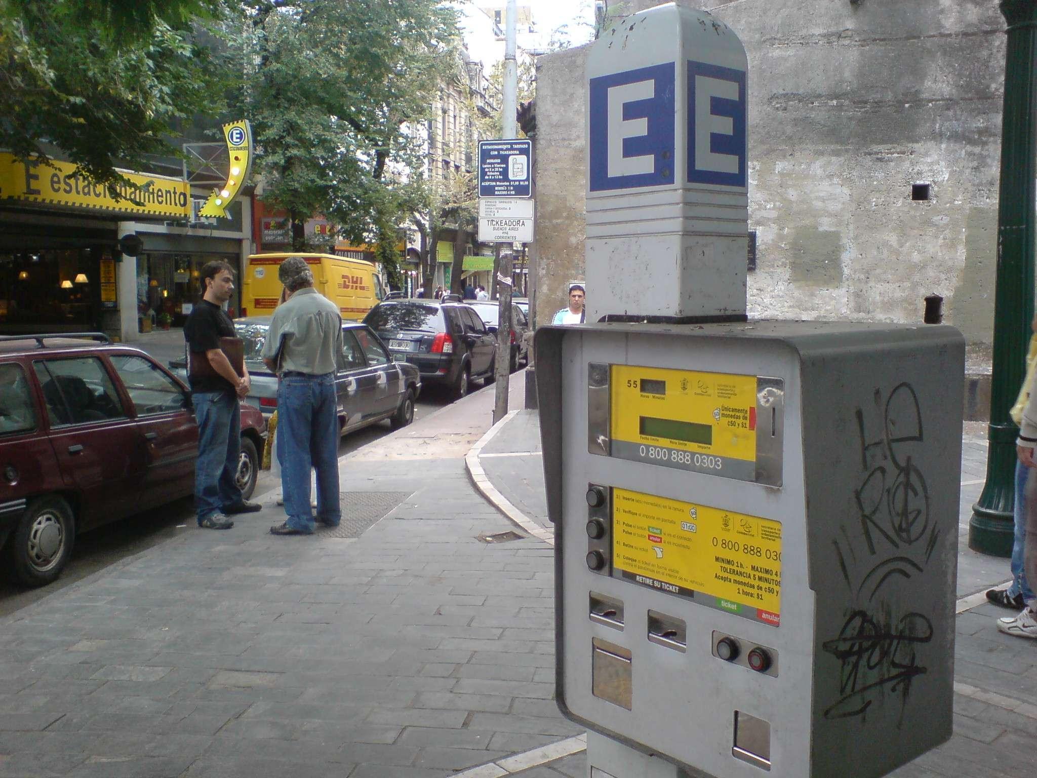 Polémica por parquímetros en la Ciudad Foto: Agencias