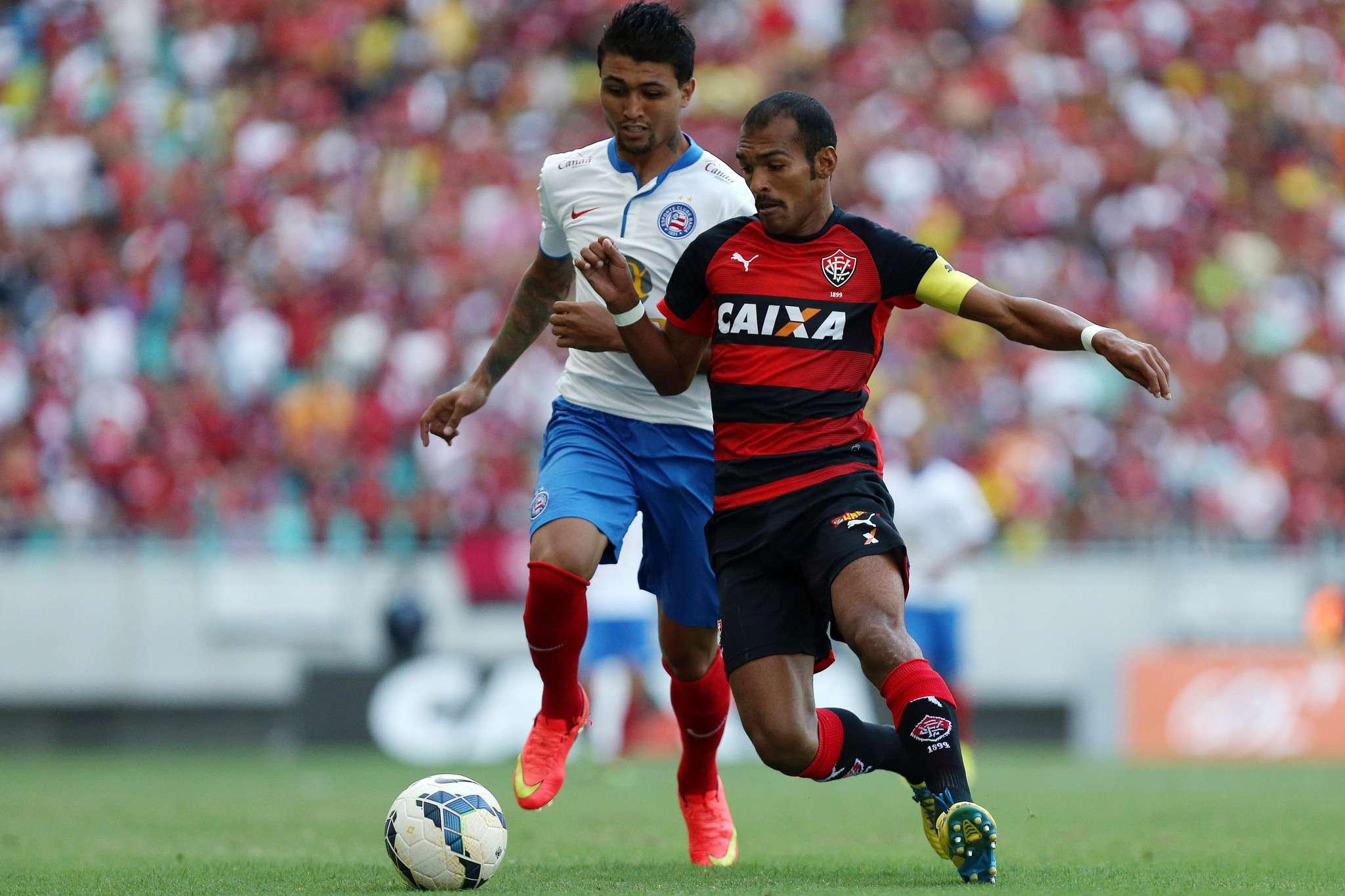 Após conviver com lesões e exclusão, Richarlyson virou capitão do Vitória Foto: Felipe Oliveira/EC Vitória/Divulgação