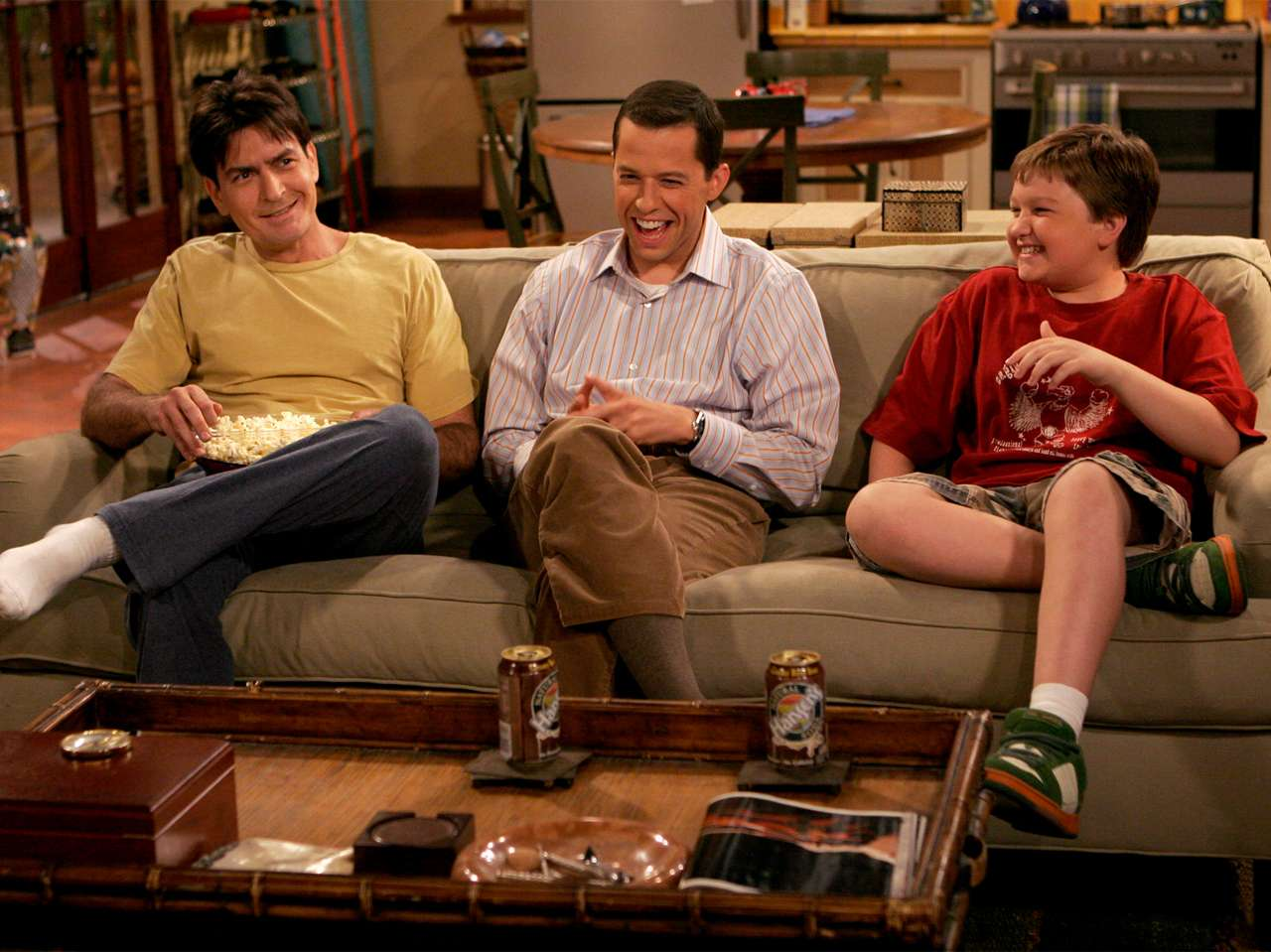 'Two and a Half Men'. Foto: CBS