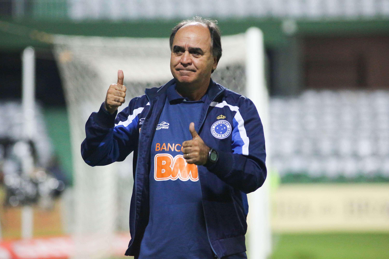 Marcelo Oliveira caminha a passos largos para o bicampeonato do Cruzeiro Foto: João Madruga/Futura Press