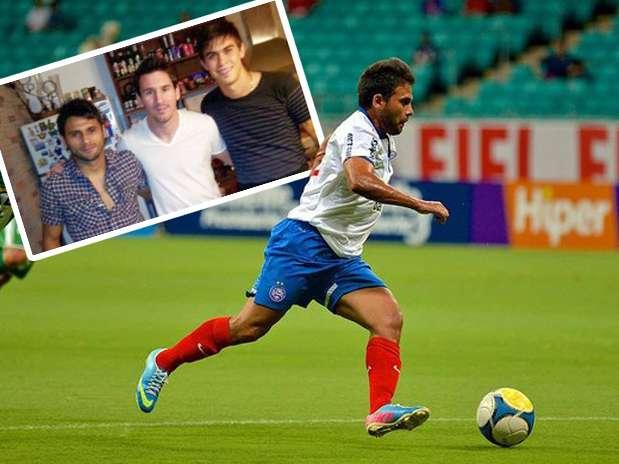 Maximiliano y Emanuel Biancucchi, figuras del Bahía, son primos de Lionel Messi. Foto: Bahía/futbolsapiens.com