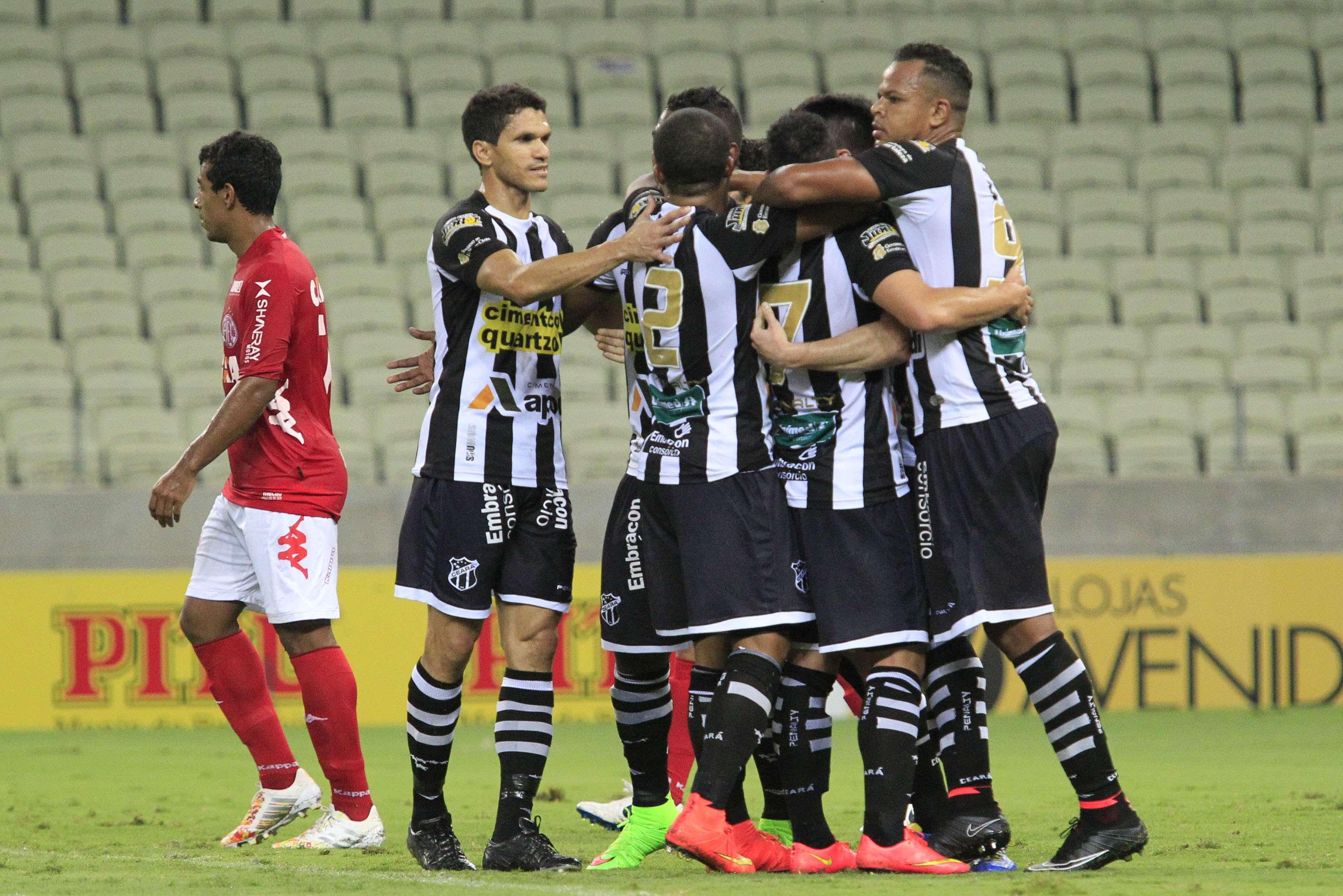 Ceará se recuperou após resultados ruins Foto: LC Moreira/Agência Lance
