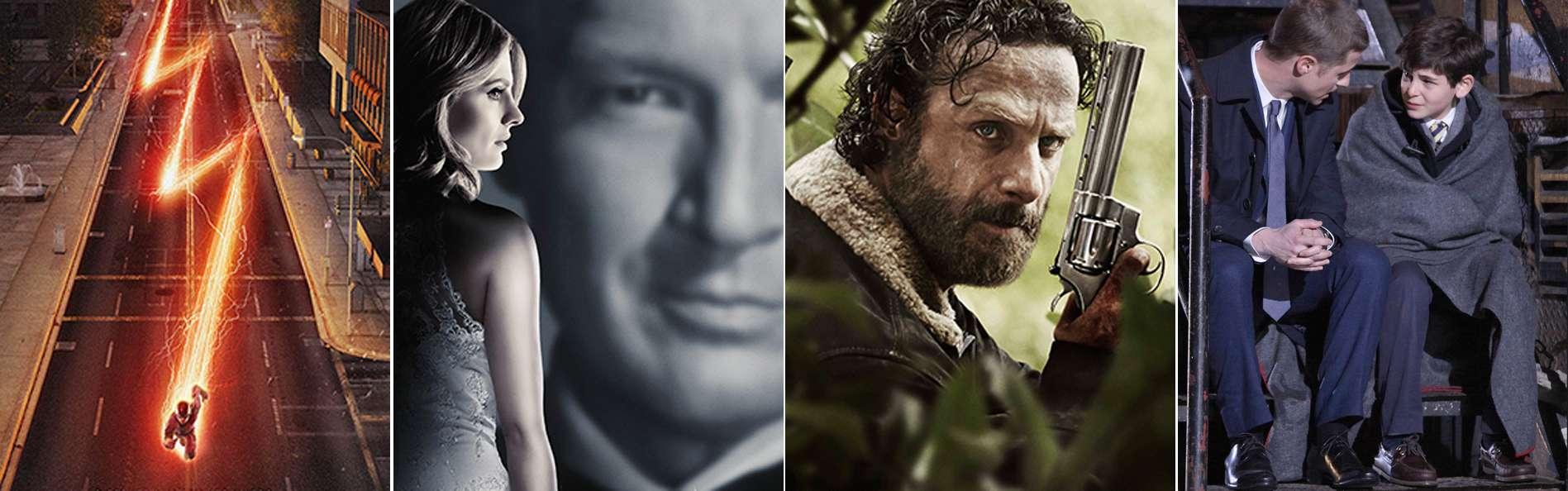 Estrenos de series 2014. Foto: CW / CBS / AMC