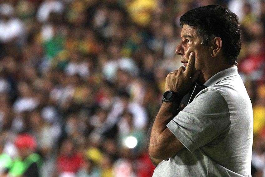 Joel Santana ainda não perdeu no comando do Vasco Foto: Marcelo Sadio/Vasco.com.br/Divulgação