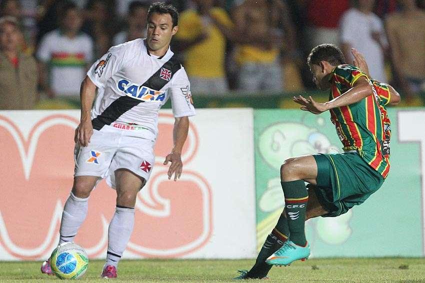 Kleber teve uma atuação apagada nesta terça-feira Foto: Marcelo Sadio/Vasco.com.br/Divulgação