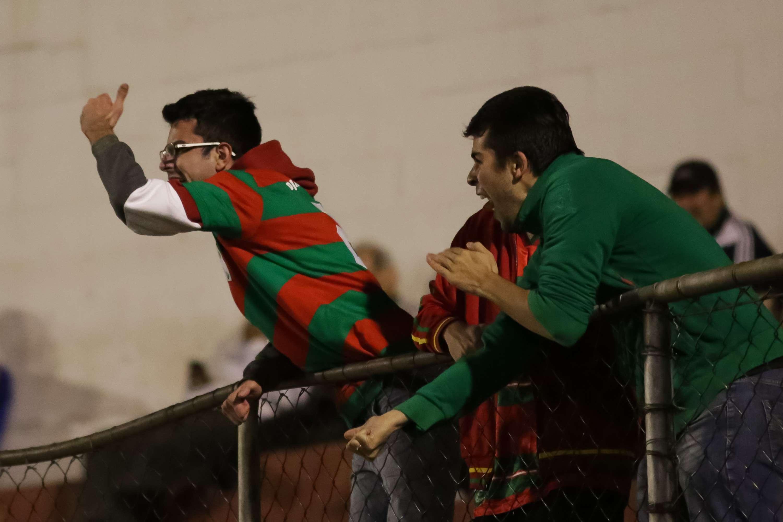 Torcida da Portuguesa protesta durante empate com o Náutico Foto: Rodrigo Gazzanel/Futura Press